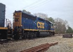 CSX GP40-2 6965 and mate 2365
