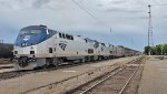 The westbound Empire Builder calls at Havre, Montana